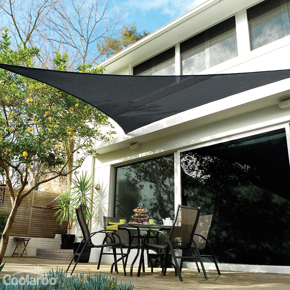 Extreme Shade Sail Right Angle Triangle Coolaroo